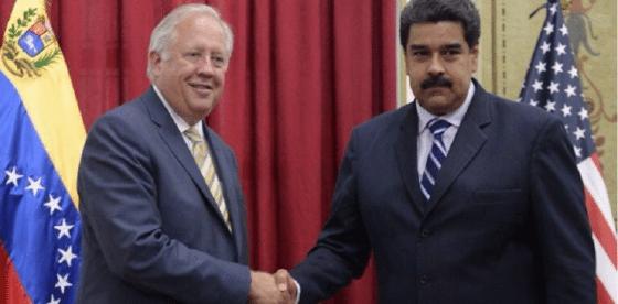 Sale Thomas Shannon del Departamento de Estado y se aproxima una política frontal sobre Venezuela