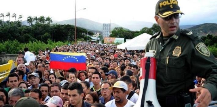 venezolanos – Colombia