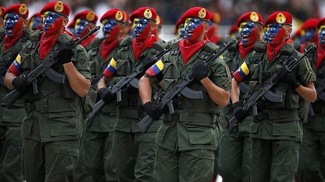 venezuela-militares