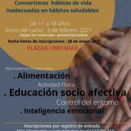 Bétera organiza un curso de Hábitos Saludables para jóvenes
