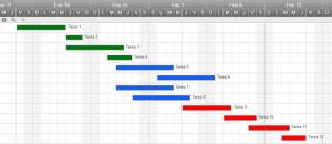 Use esta plantilla de Gantt en Excel gratis
