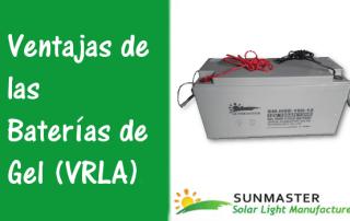 Ventajas de las Baterías de Gel VRLA Prev - Blog Energía Solar
