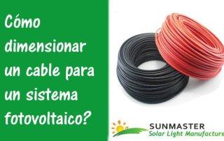 Cómo-dimensionar-un-cable-para-un-sistema-fotovoltaico Blog Energía Solar