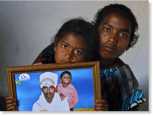 Suicidios por deudas en la India