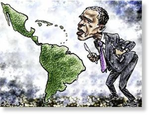 Obama come a latinoamérica
