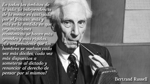 Bertrand Russell_Derecho a pensar