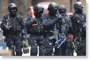 Comando SWAT de la Policía