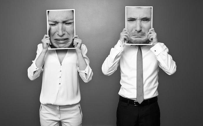 Resultado de imagen para emociones negativas en una relación