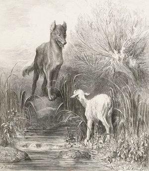 el lobo poema