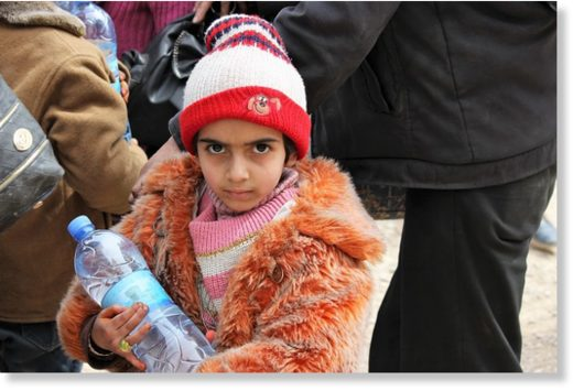 syrian child wafedin