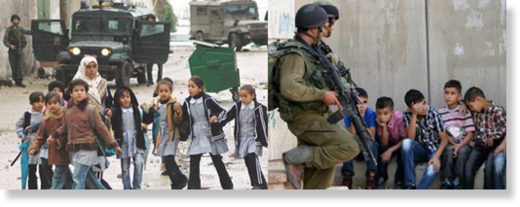 IDF palestinian children 2