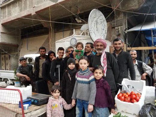 douma residents duma chemical attack