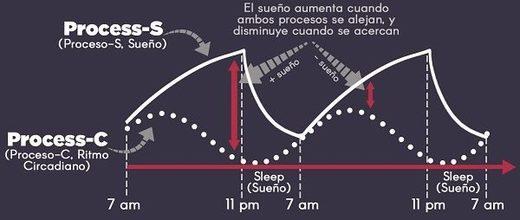 procesos de sueño