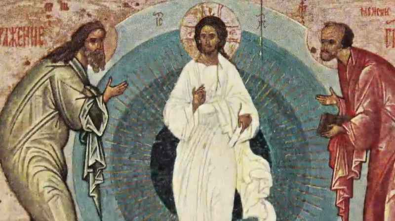 6 Closeup Of Transfiguration Icon