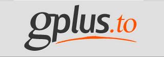 Gplus.to, logo, icono