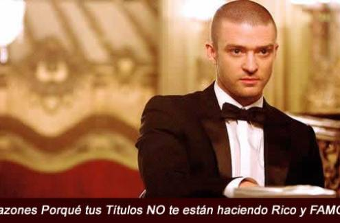 rico y Famoso, Justin Timberlake, in time