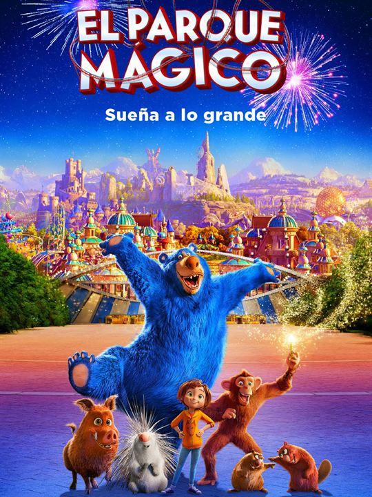 Resultado de imagen para el parque magico poster.