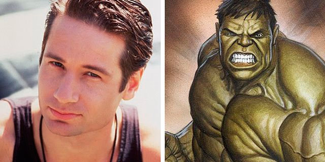 Image result for DAVID DUCHOVNY AS THE HULK