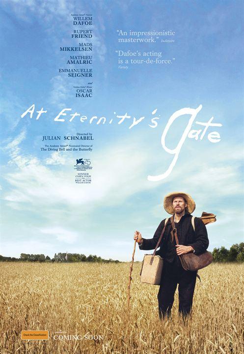 Van Gogh, a las puertas de la eternidad : Cartel