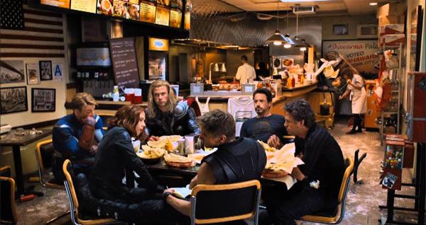 The Avengers escena post-créditos.
