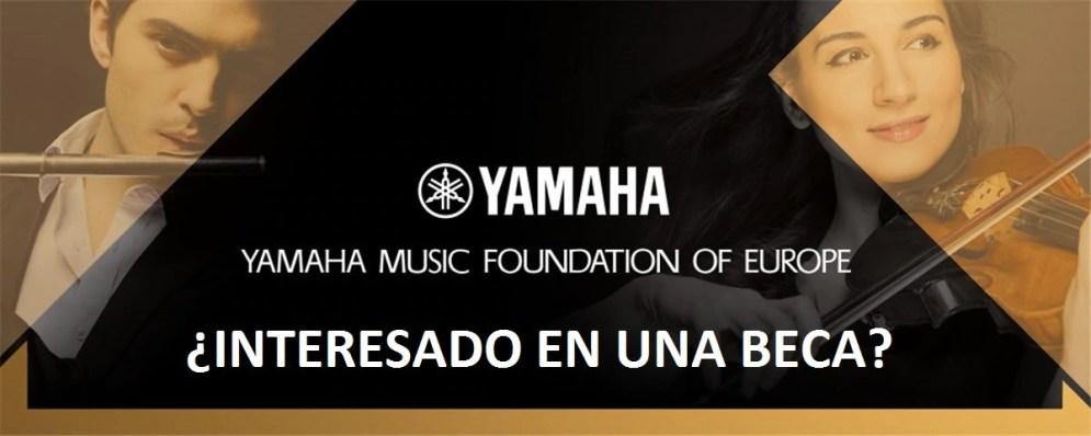 Becas Yamaha Clarinete 2017_2018