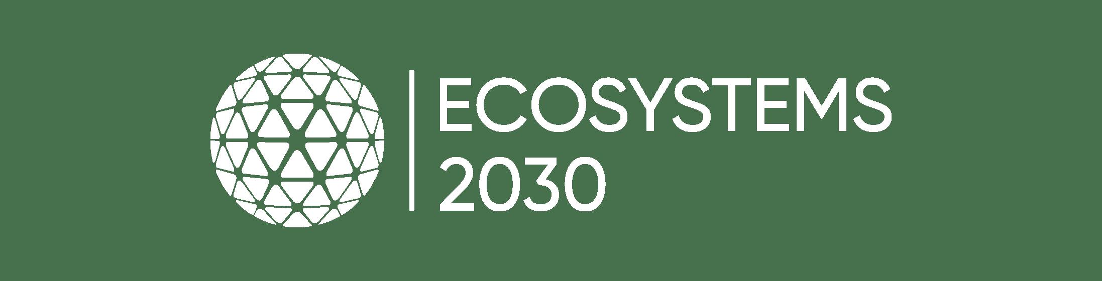 Logo ES2030 white