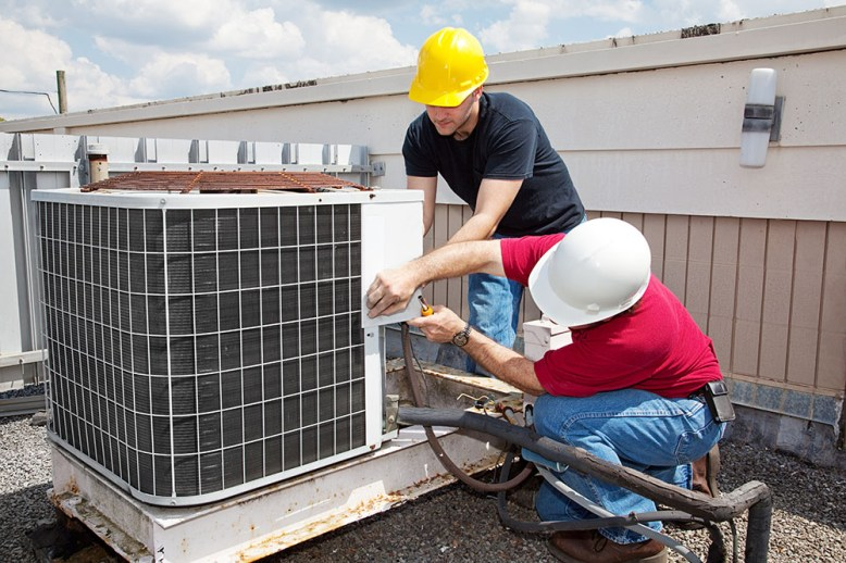 energy savings common area hvac replacement