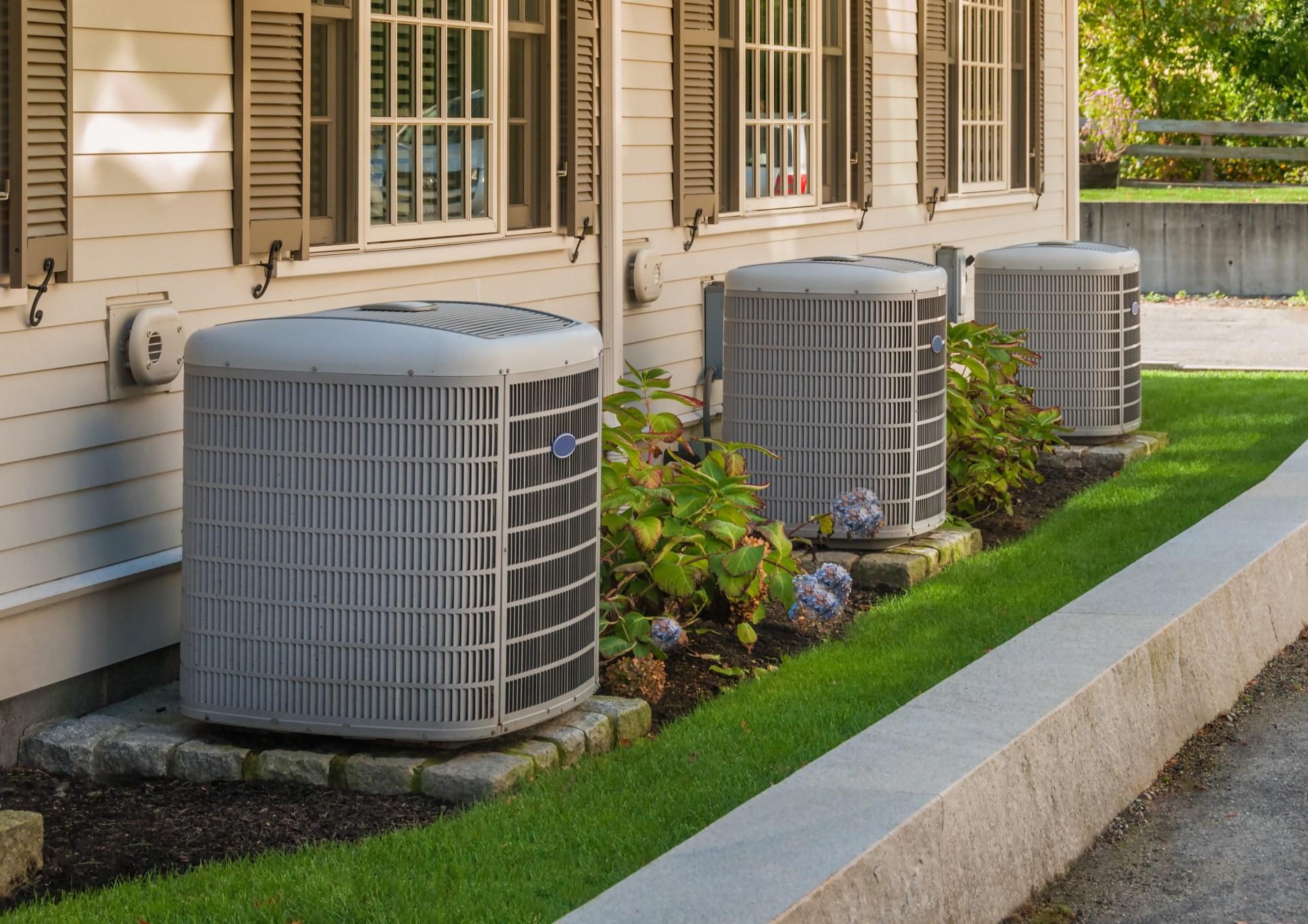 Heat Pump and Air Conditioner Split System (Exterior Unit)