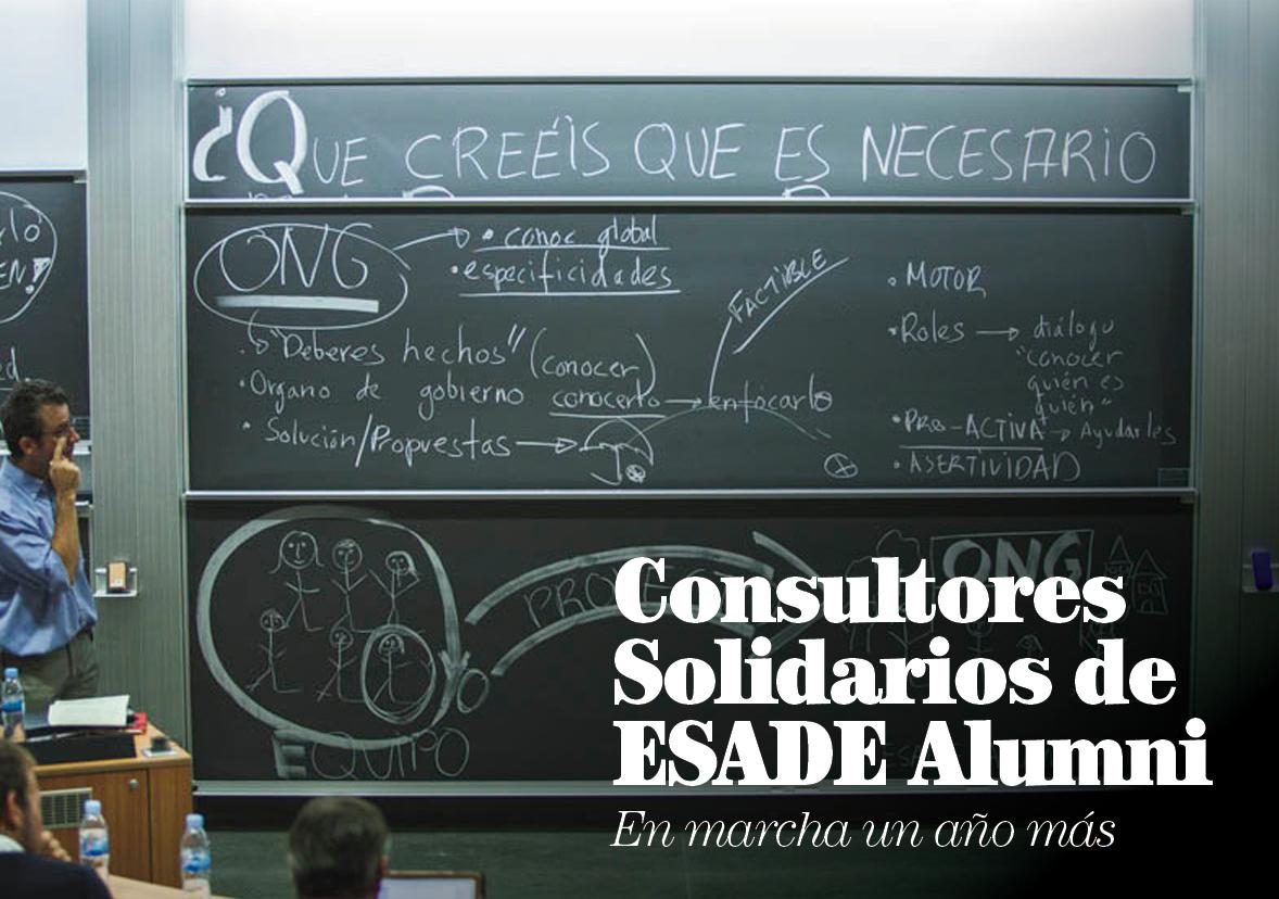 Consultores Solidarios de ESADE Alumni, en marcha un año más