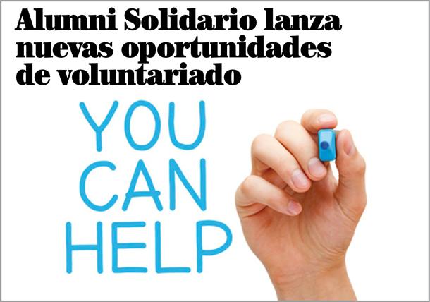 Nuevas oportunidades de voluntariado