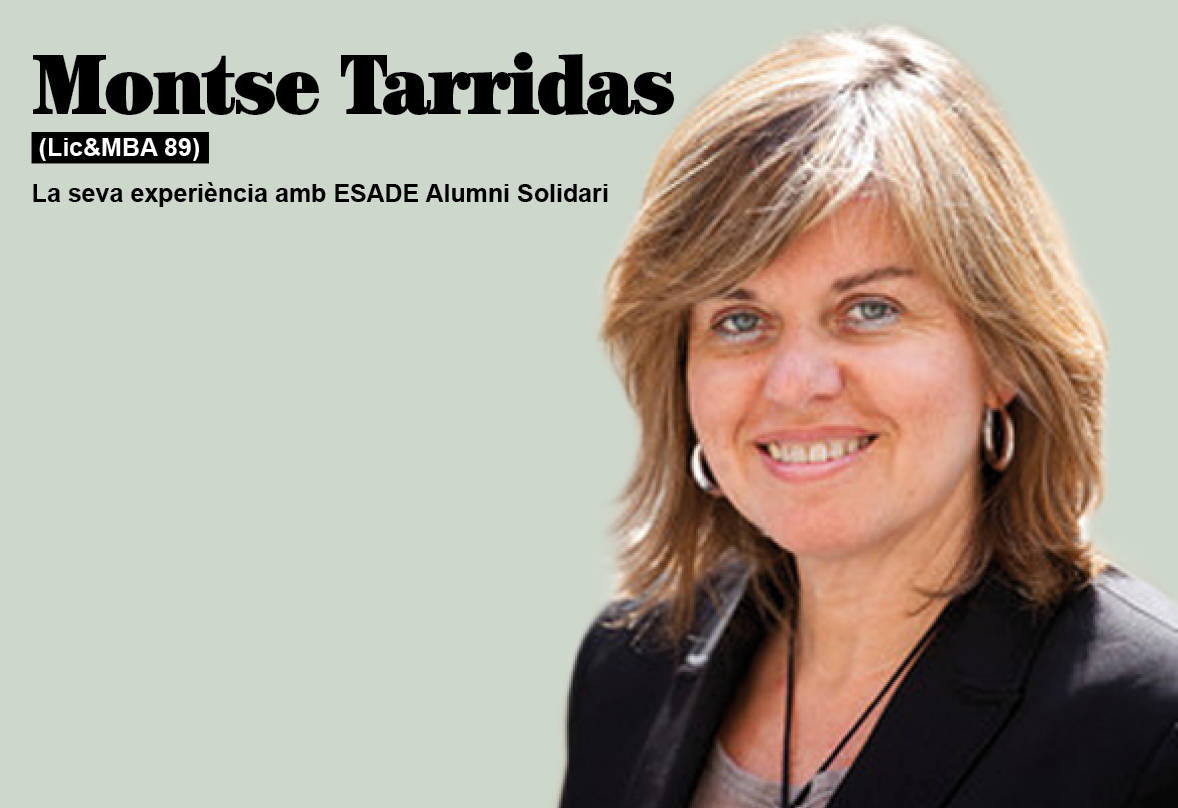 «El meu repte és desenvolupar projectes d'RSE i innovació social»