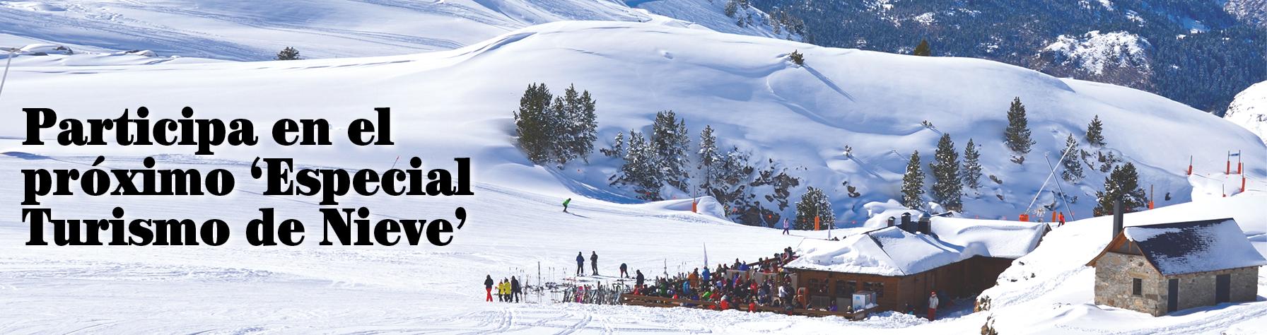 Destinos de vacaciones blancas en el próximo 'Especial Turismo de Nieve'