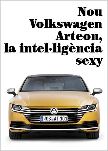 Nou Volkswagen Arteon, la intel·ligència mai no havia estat tan sexy