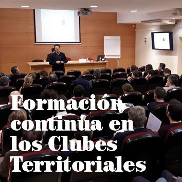 Formación continua en los Clubes Territoriales