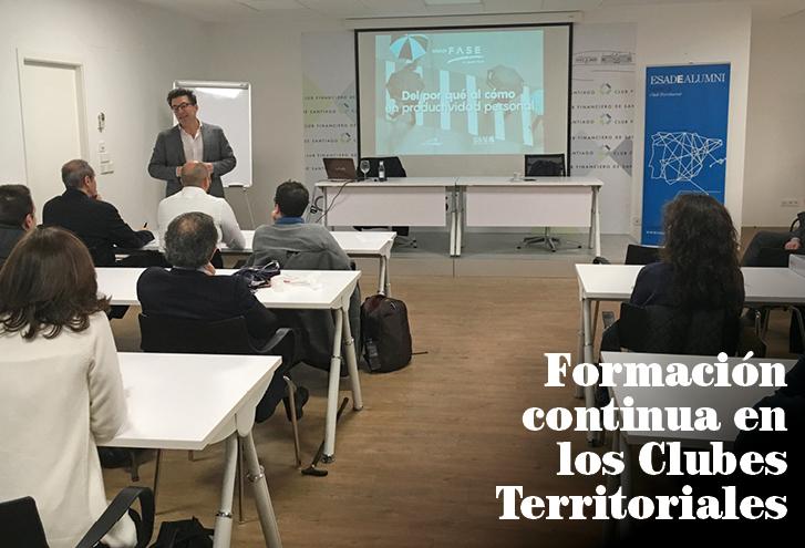 Nuevas sesiones en los Clubes Territoriales