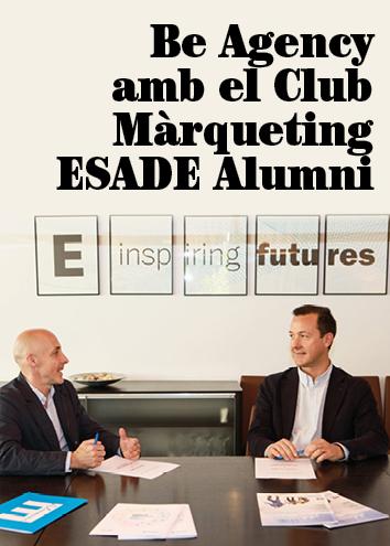 Be Agency, patrocinador del Club Marketing ESADE Alumni