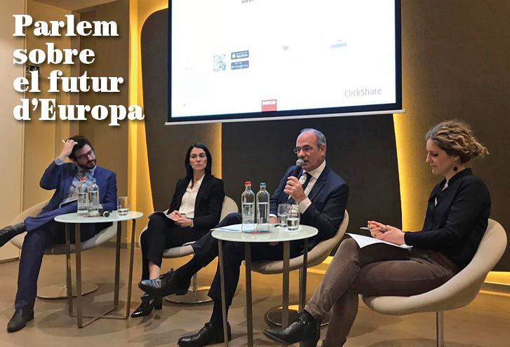 Parlem sobre el futur d'Europa