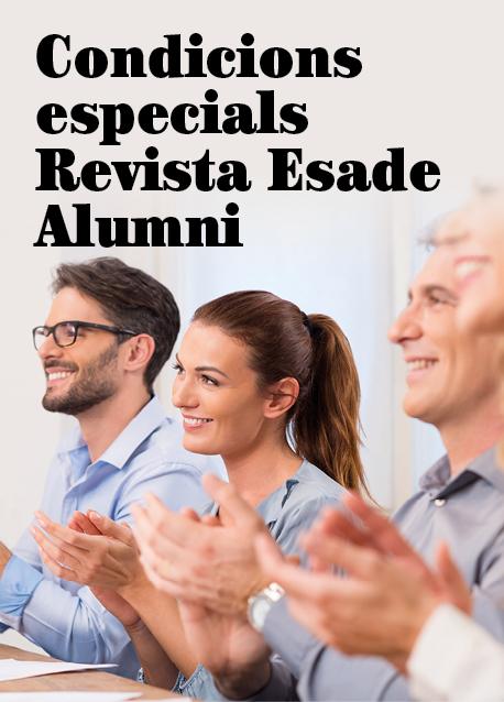 Condicions especials Revista Esade Alumni