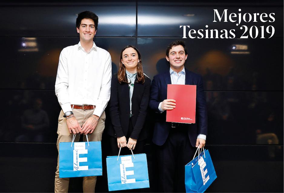 El Consejo Interclubes de Esade Alumni premia las mejores Tesinas 2019