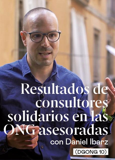 Resultados de consultores solidarios en las ONG asesoradas