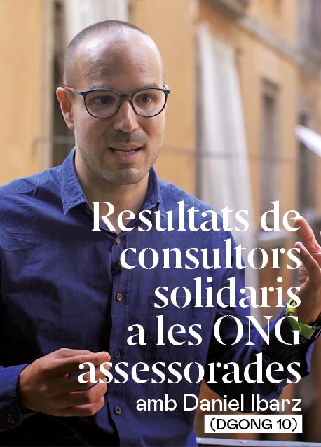 Resultats de consultors solidaris a les ONG assessorades