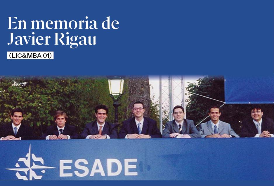 En memoria de Javi Rigau (Lic&MBA 01)