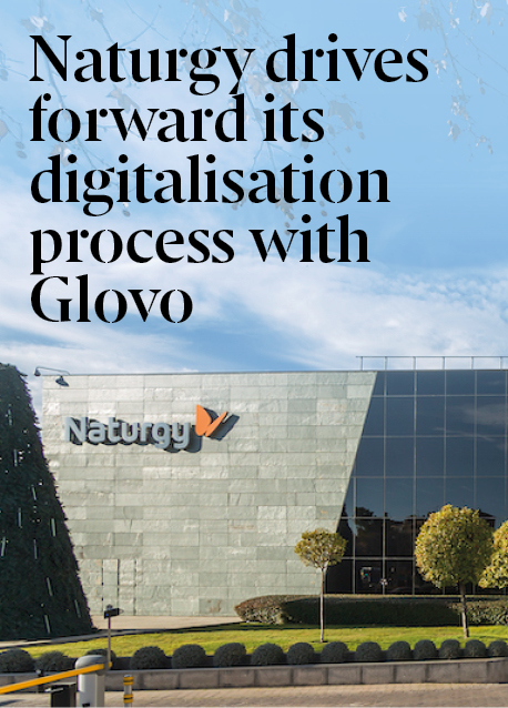 Naturgy drives forward its digitalisation process by joining forces with Glovo to offer repairs in just a click