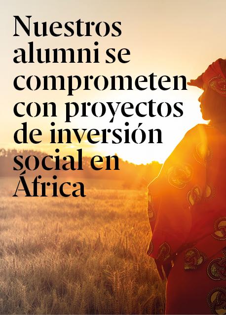 Nuestros alumni participan en proyectos de inversión social en África