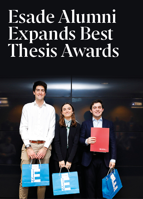 Esade Alumni Expands Best Thesis Awards in Recognition of Student Talent