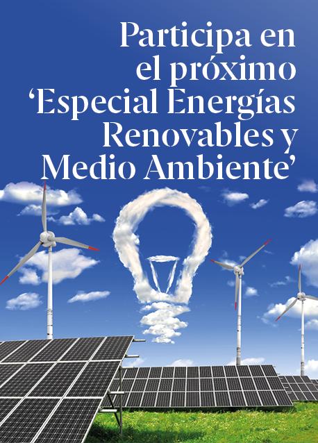 Participa en el próximo 'Especial Energías Renovables y Medio Ambiente'