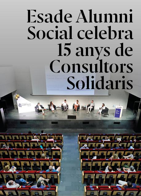 Esade Alumni Social celebra 15 anys de Consultors Solidaris