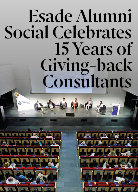 Esade Alumni Social celebrates 15th anniversary of Giving-Back Consultants