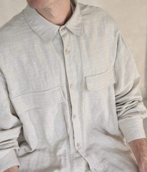 zoom in stylish mens shirt