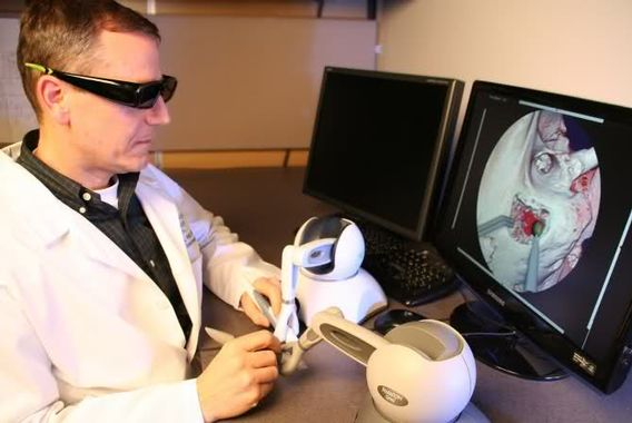 simulation haptique dentisterie